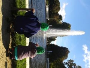Springbrunnen in Sanssouci