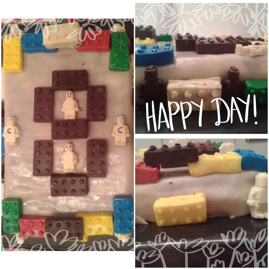 Legogeburtstagstorte