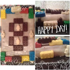 Lego geburtstagstorte