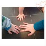 Hände 12 Tel Blick