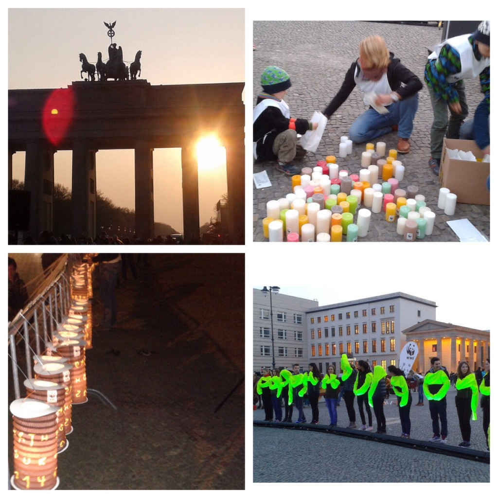 Earth Hour 2014 Berlin
