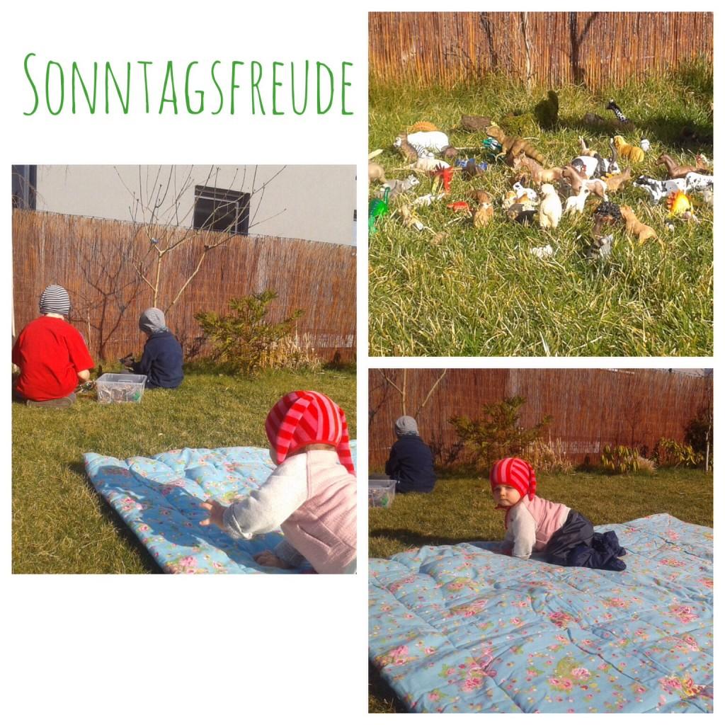 Sonntag im Garten