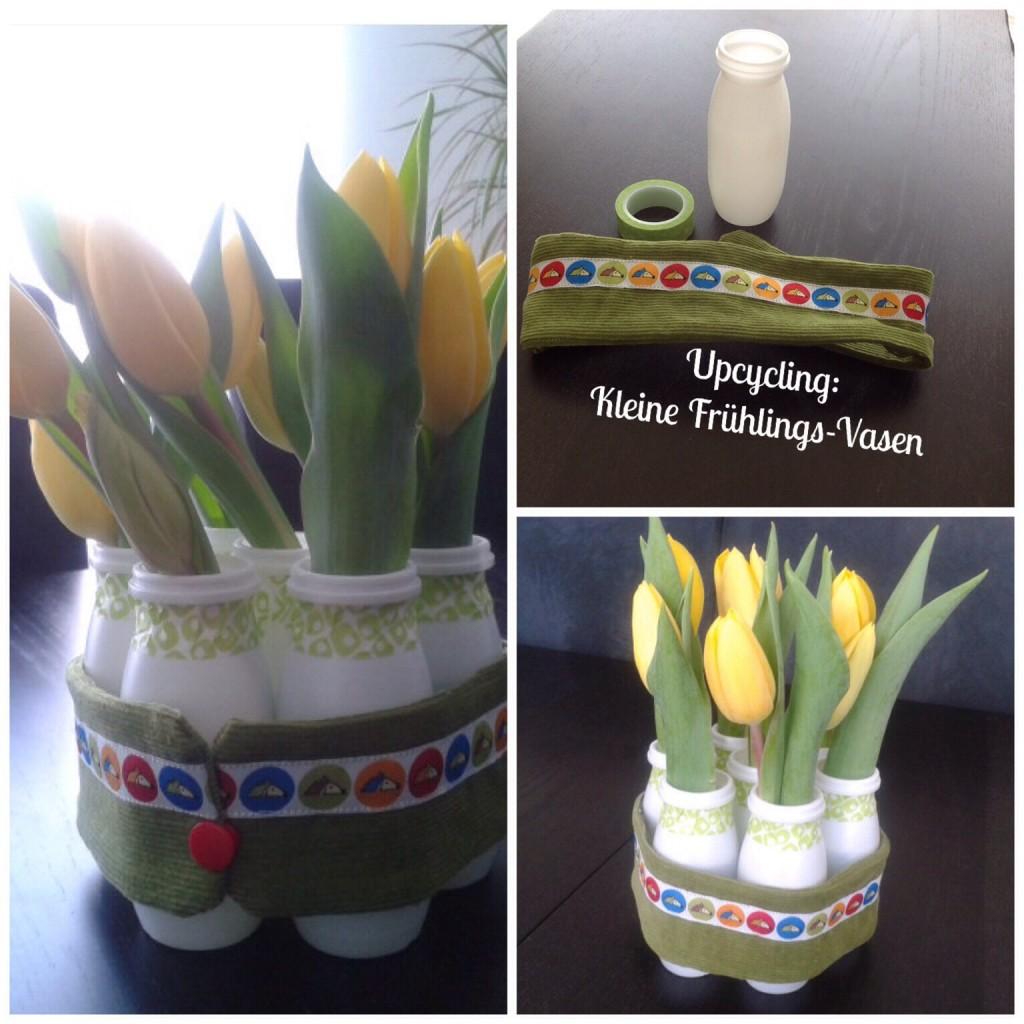 Frühlingsvasen Upcycling