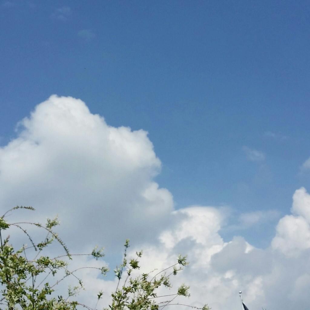 Himmel im MAi