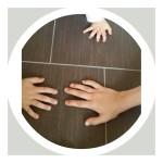 Drei Hände 12tel Blick