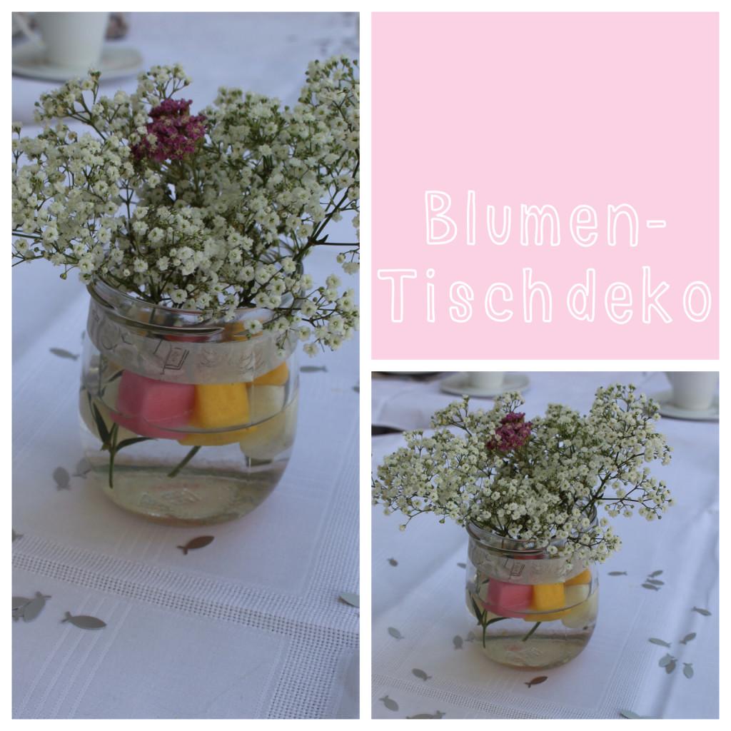 Blumendeko Taufe Hochzeit