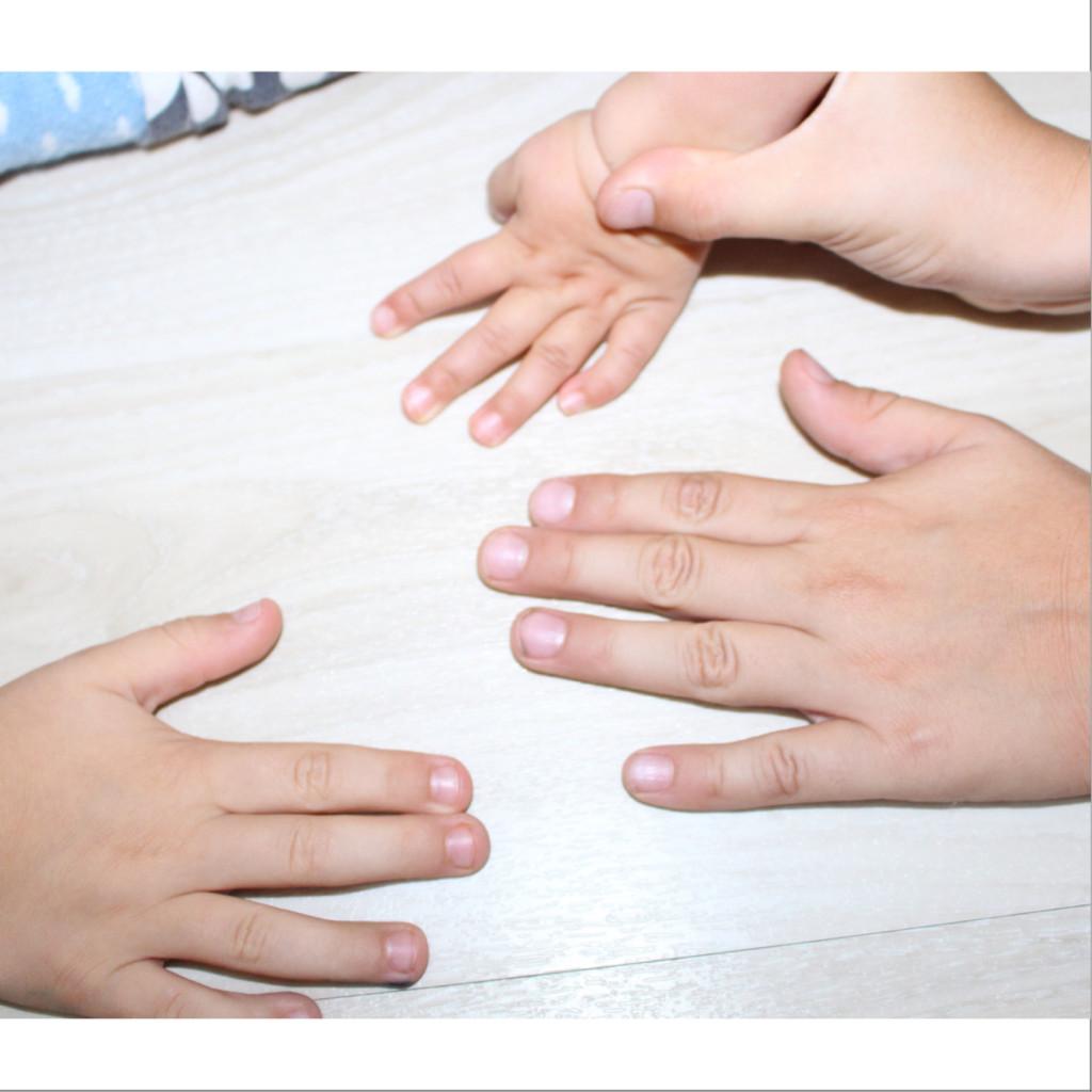 Hände Hochdrei