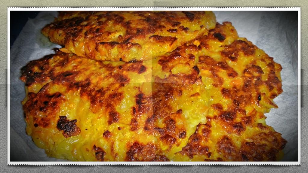 Kürbis Kartoffel Puffer