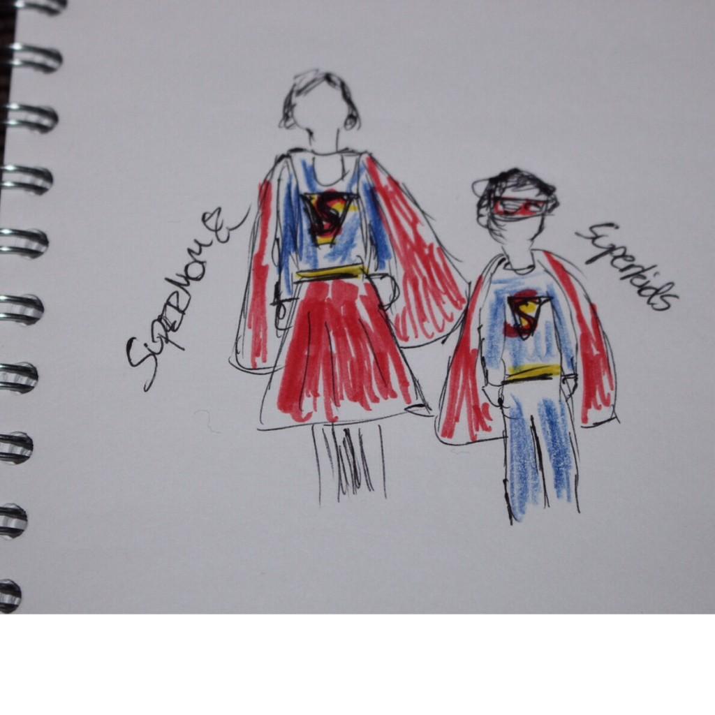 Eltern Kind kostüm