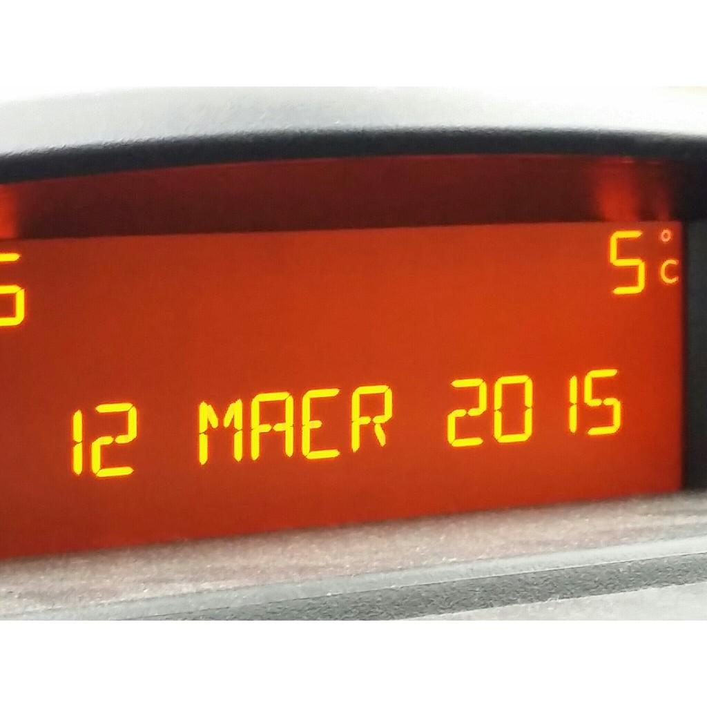 12. März 2015 5 Grad