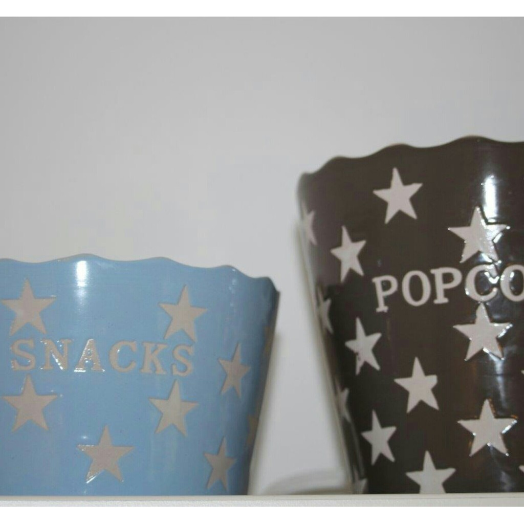 Popcorn Snacks Gefäß Schüssel House Doctor