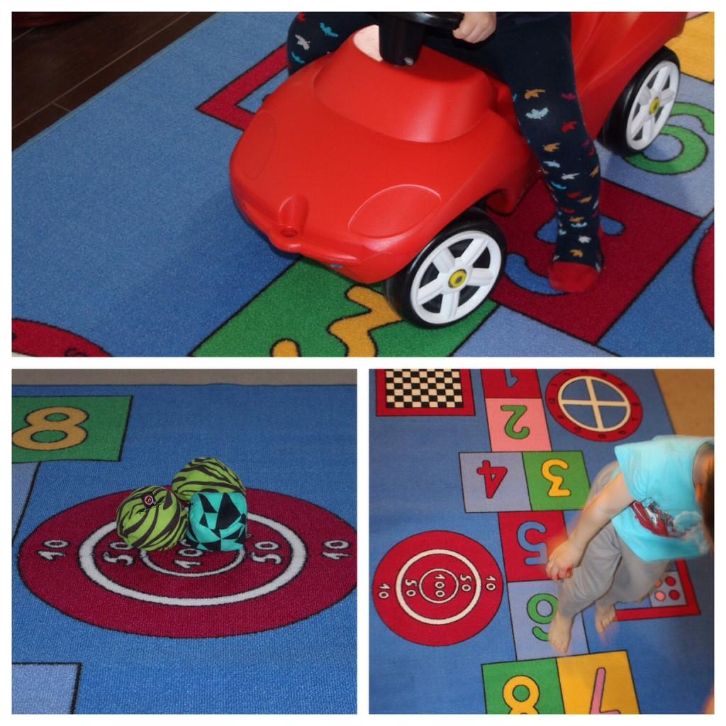 Spielteppich Kinderteppich