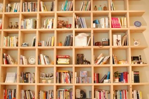 Bücherregal Bookshelf Bücher