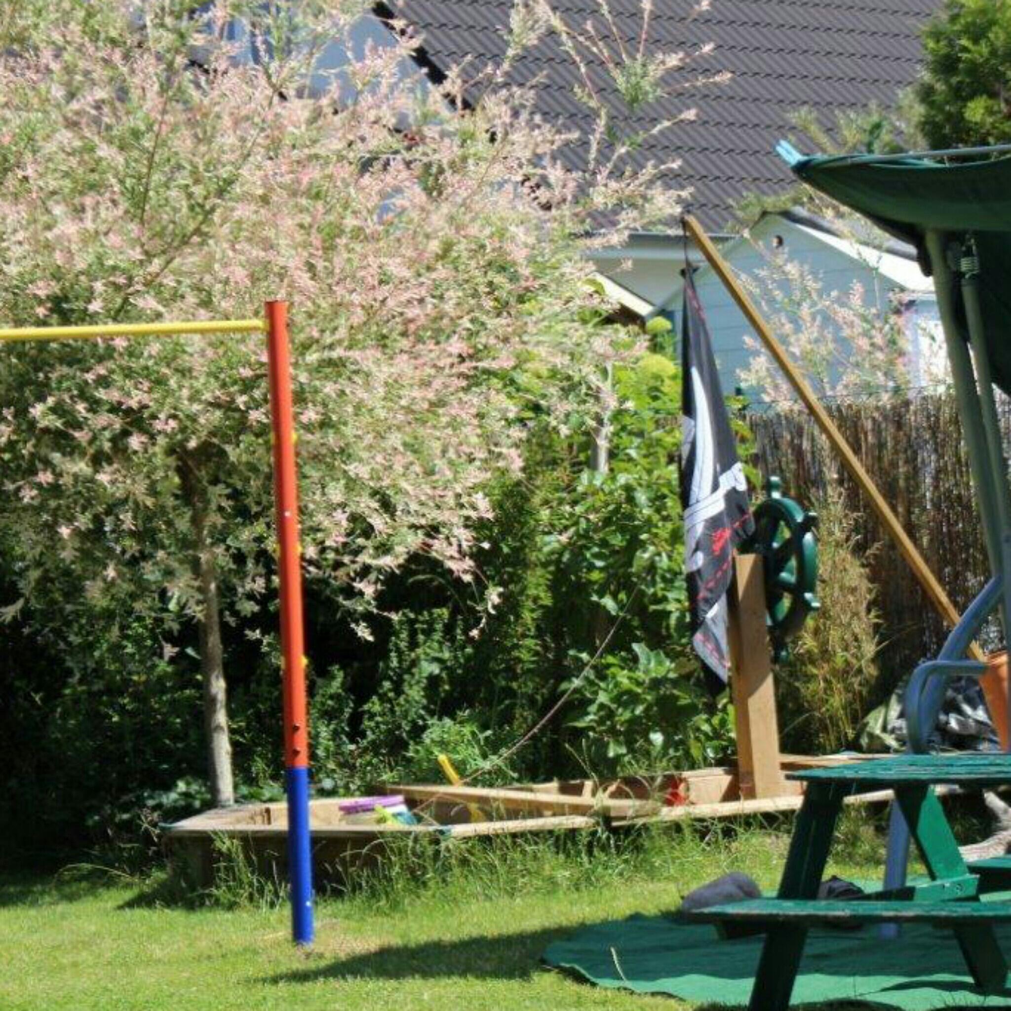 12 tel Blick Juni Sommer Garten