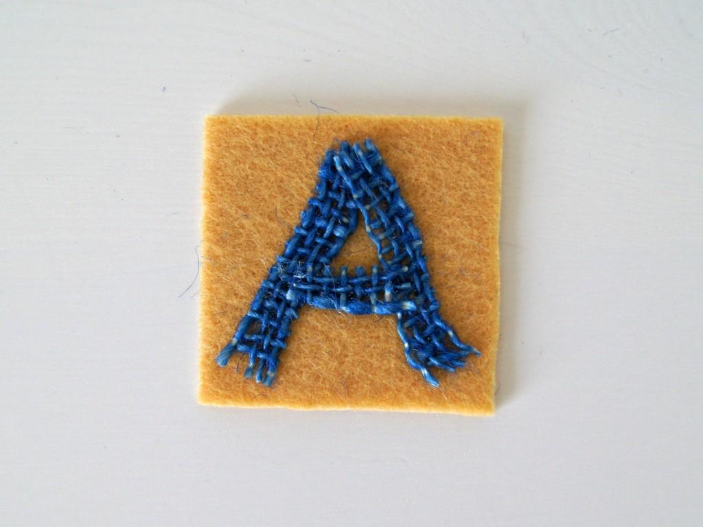 ABC Spiel DIY Filz