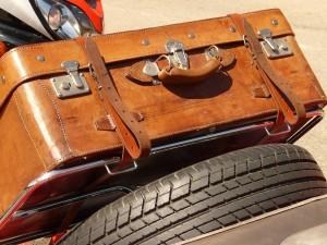 Koffer Autofahrt