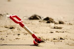Sand Schaufel Strand